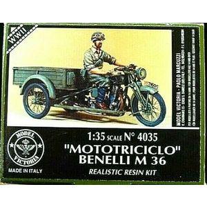 MOTOTRICICLO BENELLI M 36