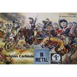 Belgian Carabiniers 1815 Waterloo 1815 1/72 scale in metal