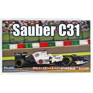 Fujimi 092072 Sauber C31 Jap/Spain/Ger scala1/20