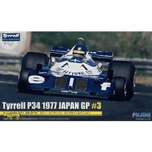 Fujimi 090900 Tyrrell P34 1977 JAPAN GP scala 1:20