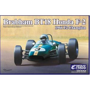 Ebbro Plastic Kit Brabham BT18 Honda F-2 1966 F2 Champion 1/20