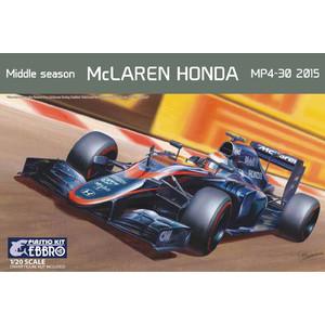 McLaren MP4-30 2015 Formula 1 scala 1:20 Ebbro plastic