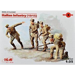 ITALIAN INFANTRY (1915) ICM 1/35