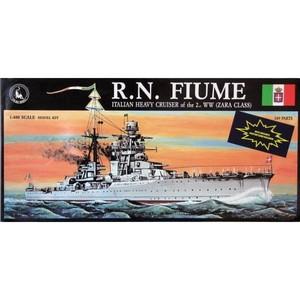 R.N. Fiume Heavy Cruiser,Tauro Model | N. 201 | Scala 1:400