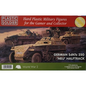 GERMAN SDKFZ 250 'NEU HALTRACK PLASTIC SOLDIER 1/72