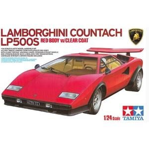 LAMBORGHINI COUNTACH LP500S RED BODY TAMIYA 1/24