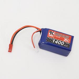 RADIOKONTROL 703048EH+T6229 Batteria li-po 7,4v. 1400mah 25c