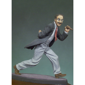 THE COMEDIAN 1930 GROUCHO MARX 54MM ANDREA'S MINIATURE
