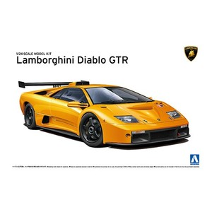 Lamborghini Diablo GTR, Aoshima | N. 010693 | 1:24