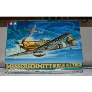 MESSERSCHMITT BF 109E-4/7 TROP TAMIYA 1/48