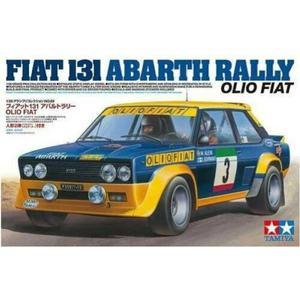 FIAT 131 ABARTH RALLY OLIO FIAT TAMIYA 1/20