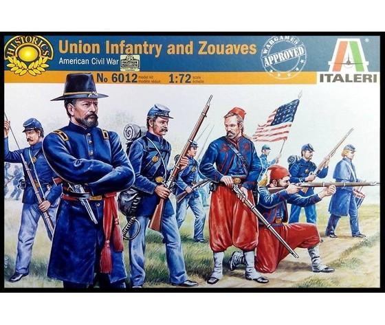 Union infantry and zouaves italeri