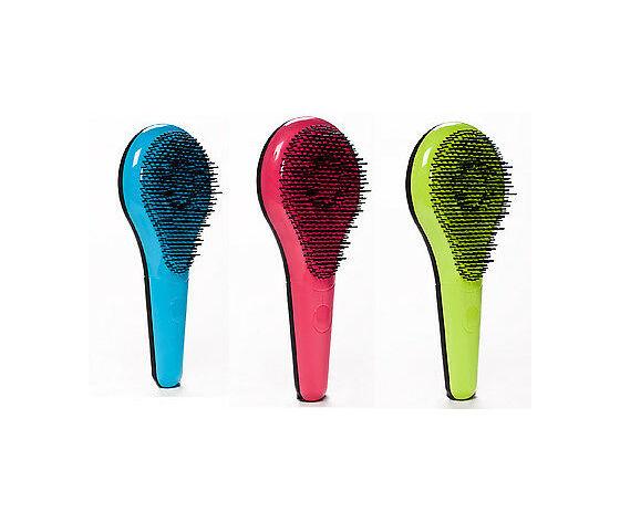 Genuine michel mercier detangling professional hair brush normal