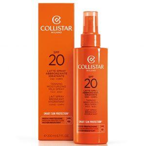 Collistar Latte Spray Abbronzante Idratante viso - corpo SPF 20 200 ml