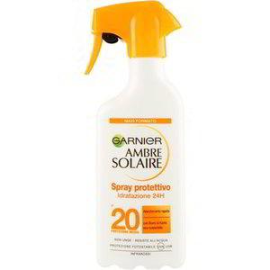Garnier Ambre Solaire Spray protettivo Idratazione 24H SPF 20 300 ml