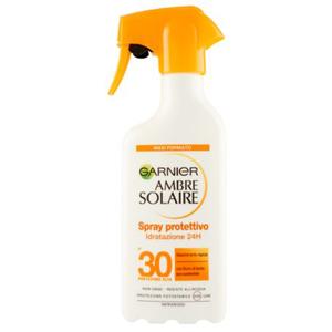 Garnier Ambre Solaire Spray protettivo Idratazione 24H SPF 30 300 ml