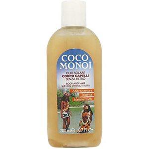 Coco Monoi Olio Solare SENZA FILTRO  Corpo Capelli 200 ml