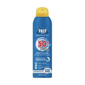 Prep Spray Solare Dermoprotettivo SPF 50+ Baby UVA / UVB Protezione Pelli Sensibili con VITAMINA E  WATER RESISTANT 150 ml