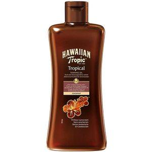 Hawaiian Tropic Tropical TANNING OIL Coconut Senza Protezione 200 ml
