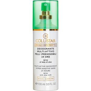 Collistar deodorante multi – attivo pelli ipersensibili 24 ore 100 ml