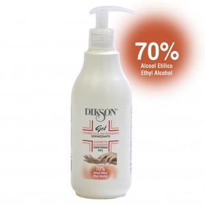 Dikson gel igienizzante 70 % alcool etilico 500 ml