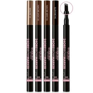 Deborah 24ore brown marker pennarello sopracciglia punta pettine tenuta estrema n. 04