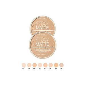 Rimmel stay matte powder poudre cipria compatta 001 trasparent 14 g