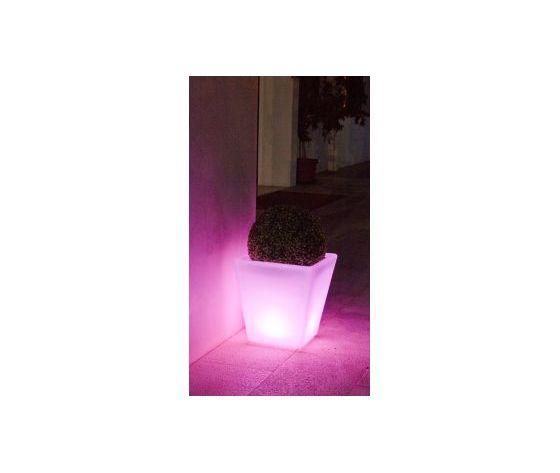 0827401 lampada led pe garden vaso h41 bizzotto