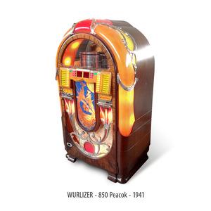 JUKE BOX WURLITZER 850 PEACOCK
