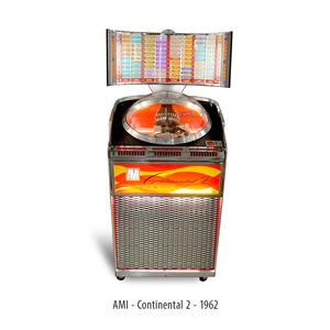 JUKE BOX AMI CONTINENTAL 2 ELECTRIC 1962