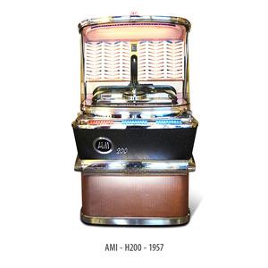 JUKE BOX AMI H200 1957