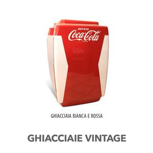 GHIACCIAIA VINTAGE MAJESTIC COCA COLA BIANCO