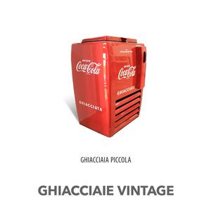 GHIACCIAIA VINTAGE MAJESTIC COCA COLA PICCOLO