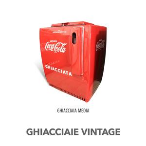 GHIACCIAIA VINTAGE MAJESTIC COCA COLA MEDIO