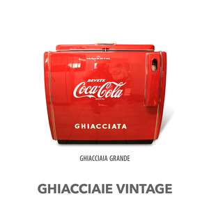 GHIACCIAIA VINTAGE MAJESTIC COCA COLA GRANDE