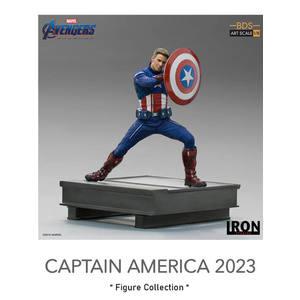 CAPTAIN AMERICA 2023 Art ST 1/10 Avengers Endgame