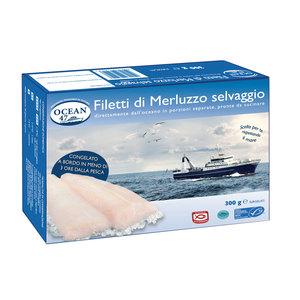 FILETTI MERLUZZO SELVAGGIO OCEAN 47 MSC 300 g.