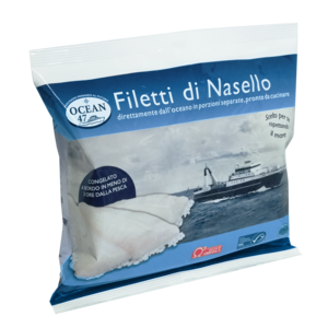FILETTI NASELLO OCEAN 47  MSC 300 g.