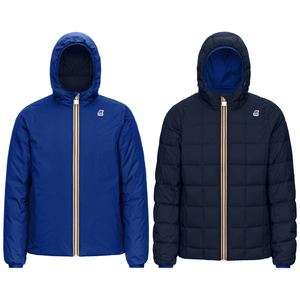 K-WAY JACQUES THERMO BLUE-ROYAL MARNE