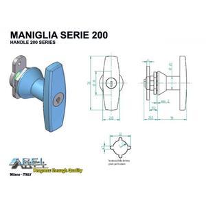 Maniglie SERIE 200