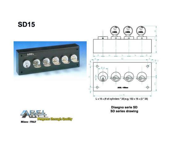 Distributore chiave SD12/S111/MC
