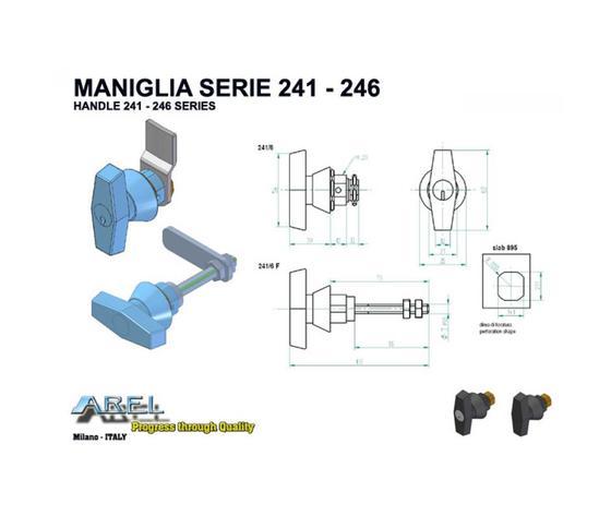 Maniglie SERIE 241 - 246