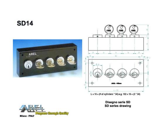 Distributore chiave SD1x4SC1