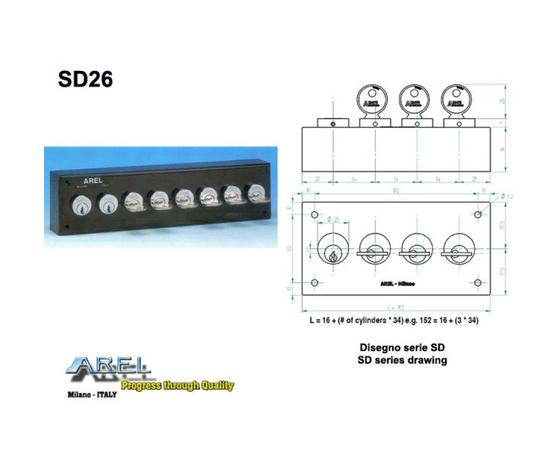 Distributore chiave SD11BCPX