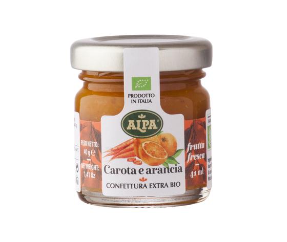 Confettura 41ml carota arancia
