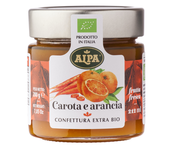 Confettura 212 ml carota arancia