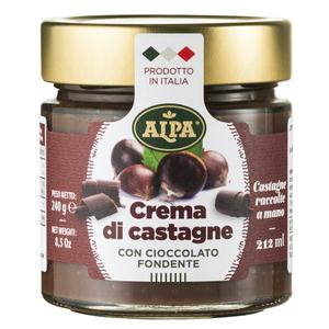 Crema di caldarroste al cioccolato 200gr Alpa