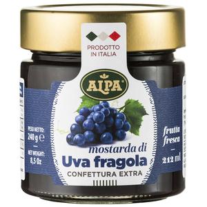 Confettura di uva fragola 200gr Alpa