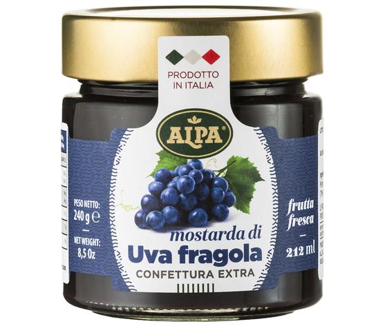Confettura 212ml uvafragola