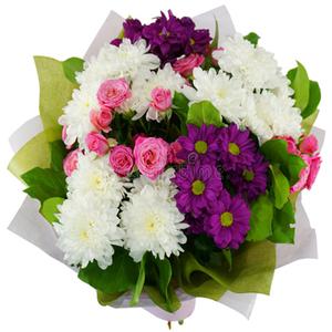 mazzo di fiori per il cimitero